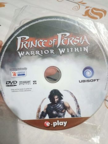 Prince of persia game CD for PC